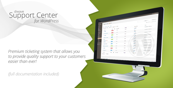 Support Center - WordPress Ticketing System