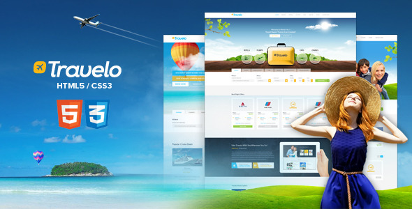 Travelo - Responsive Html5 Travel Template