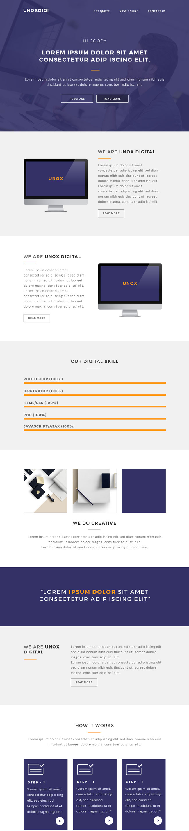 how to make a responsive email template - 35 best responsive email templates 2015