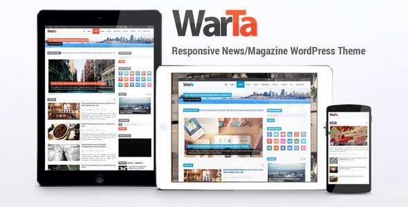 Warta - News - Magazine WordPress Theme