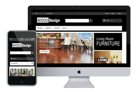 Wood – Free Furniture Responsive Prestashop Theme