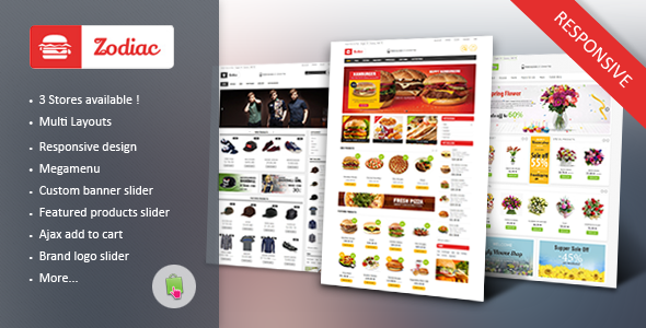 ZODIAC - Multi Store Responsive PrestashopTheme