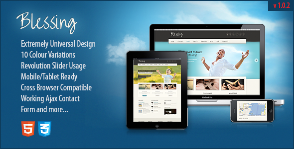 blessing-responsive-html5css3-template