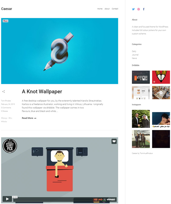 caesar-a-clean-and-focused-wordpress-blog-theme