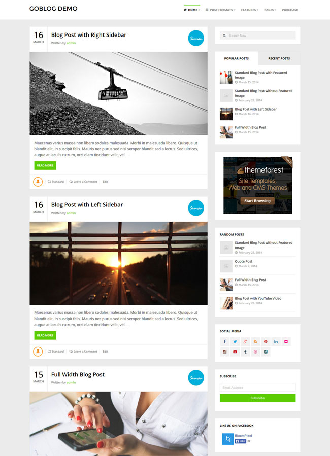 goblog-responsive-wordpress-blog-theme