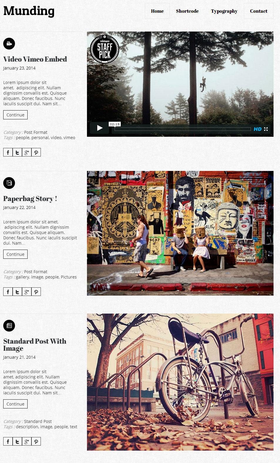 munding-minimalist-responsive-blogging-theme