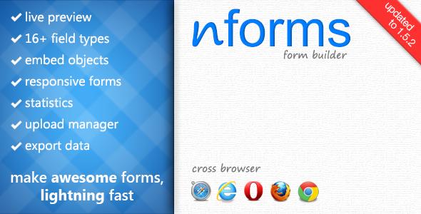nForms - WordPress Form Builder