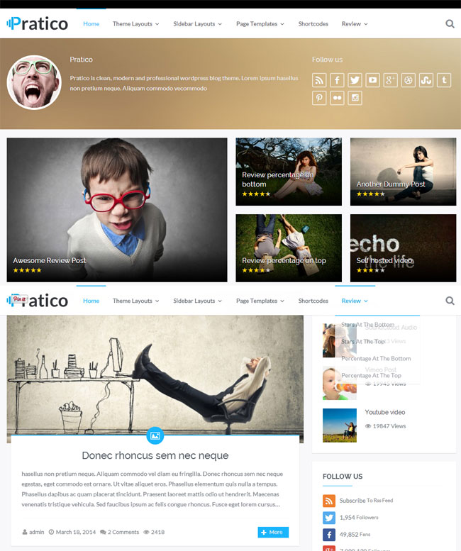 pratico-retina-responsive-wordpress-blog-theme
