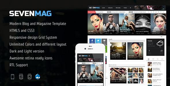 sevenmag-blogmagzinegamesnews-drupal-theme