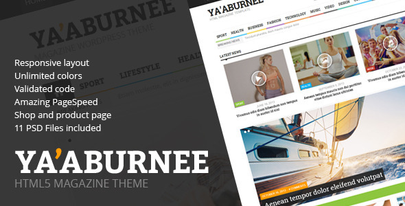 yaaburnee-magazine-ecommerce-html5-template