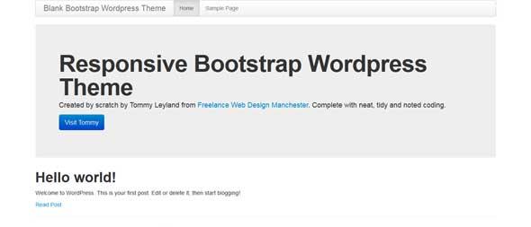 Blank-Responsive-Bootstrap-WordPress-Theme