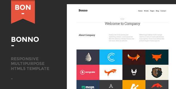 Bonno - Responsive Multipurpose Template