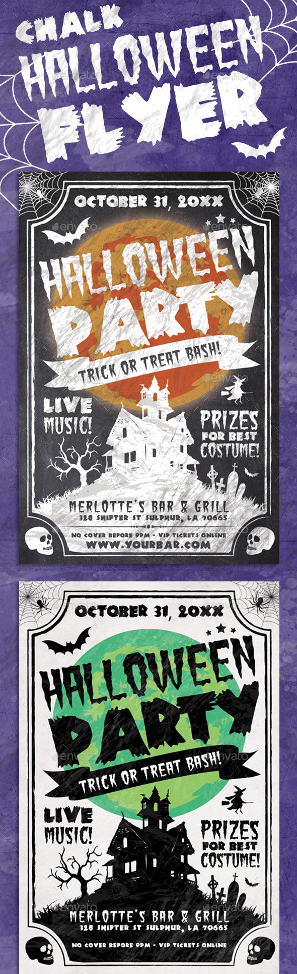 Chalk-Halloween-Flyer