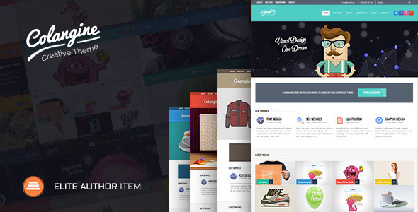 Colangine - Creative Flat HTML5 Template