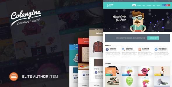 Colangine - Creative Flat HTML5 Template