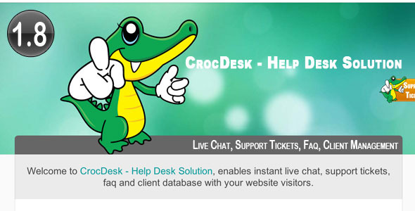 CrocDesk - Help Desk Solution