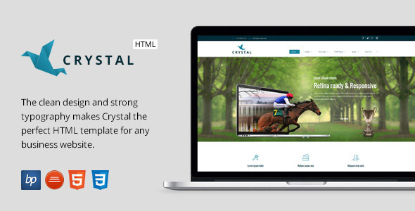 Crystal - Responsive Business HTML5 Template
