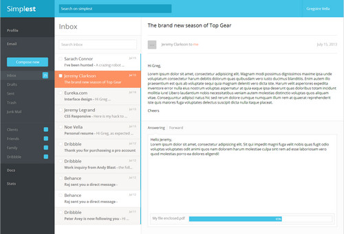Email UI Kit