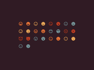 Emoticons by Keyamoon