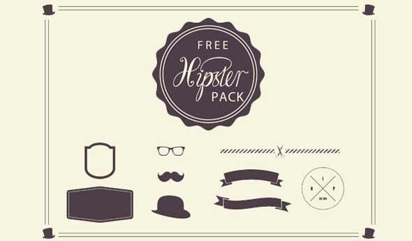 FREE-Vintage-Hipster-Elements-Pack