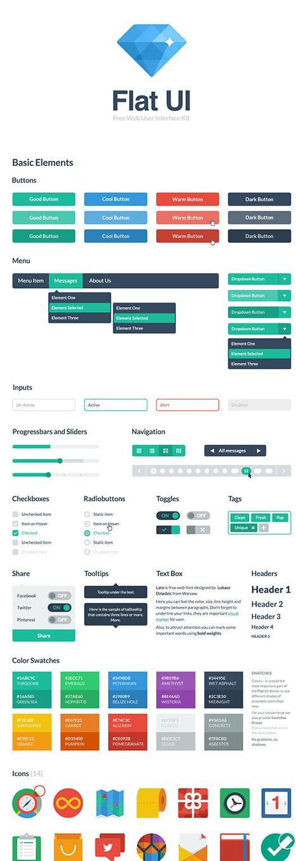 Flat-UI-HTML-CSS-Kit