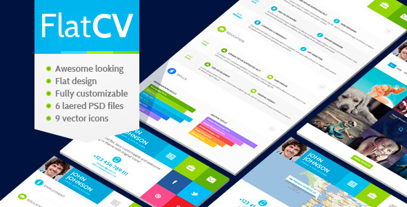 20  lastest resume psd templates for 2014