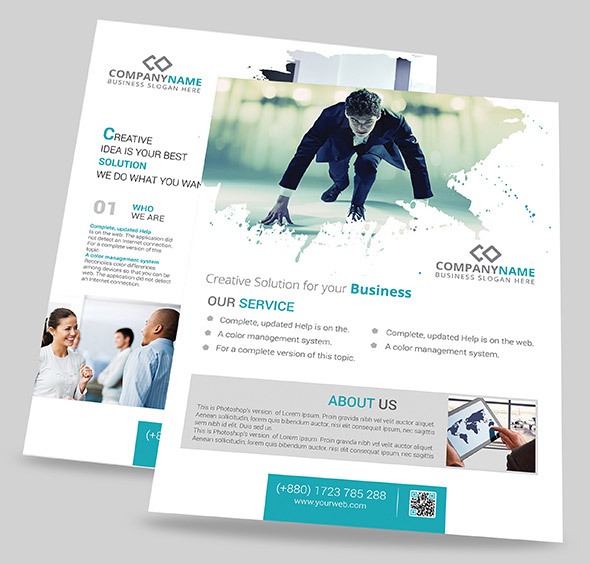 Photoshop business flyer templates mersnoforum photoshop business flyer templates flashek Images