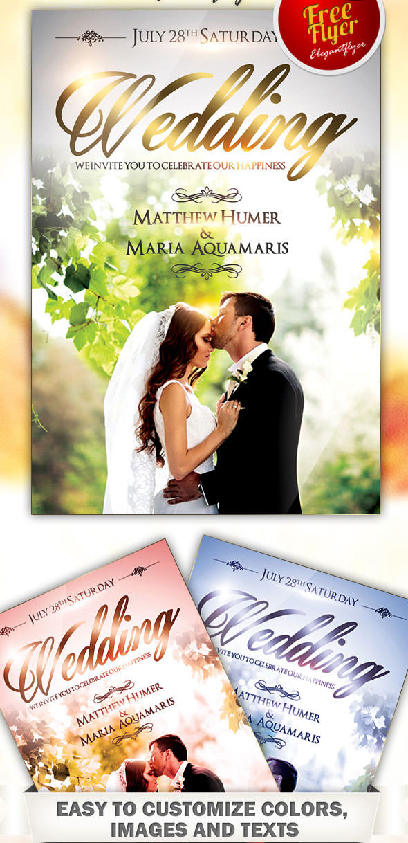 Free-Flyer-Wedding-PSD-Template-with-Facebook-Cover