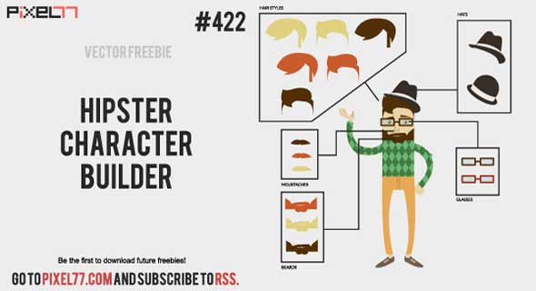 Free-Hipster-Character-Builder