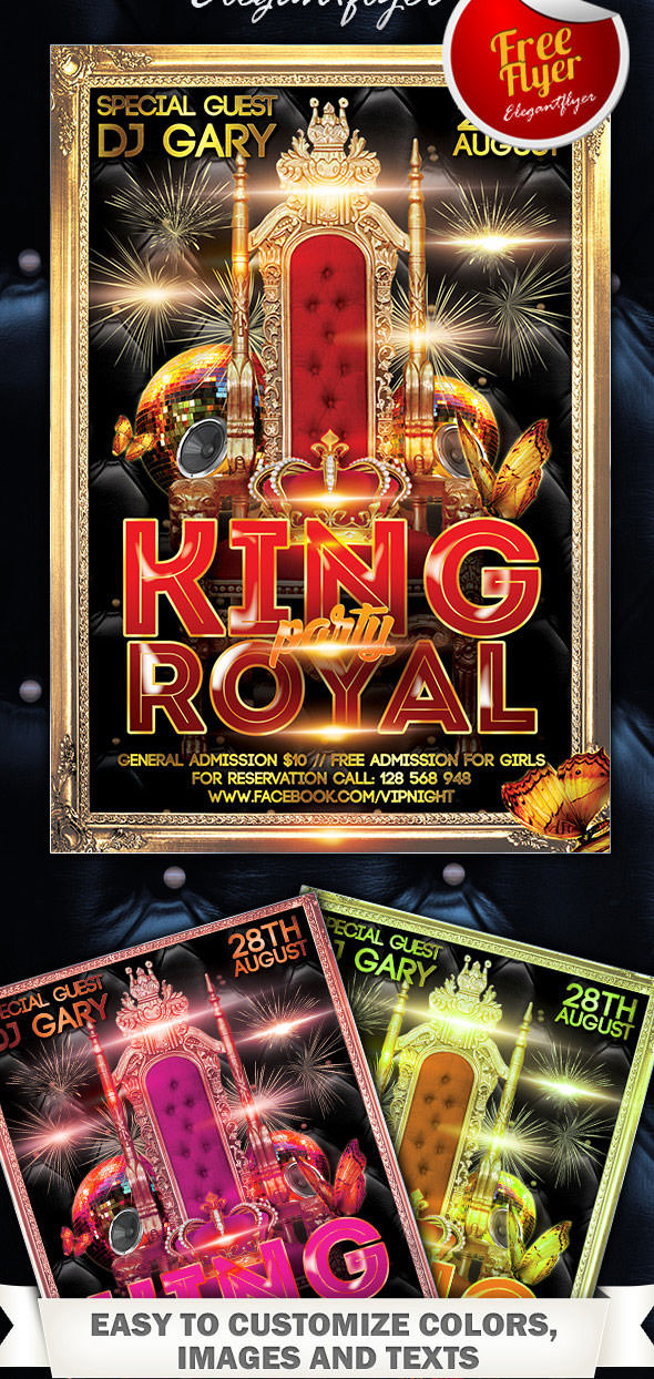 Free-King-Royal-Party-Flyer-PSD-Template-with-Facebook-Cover