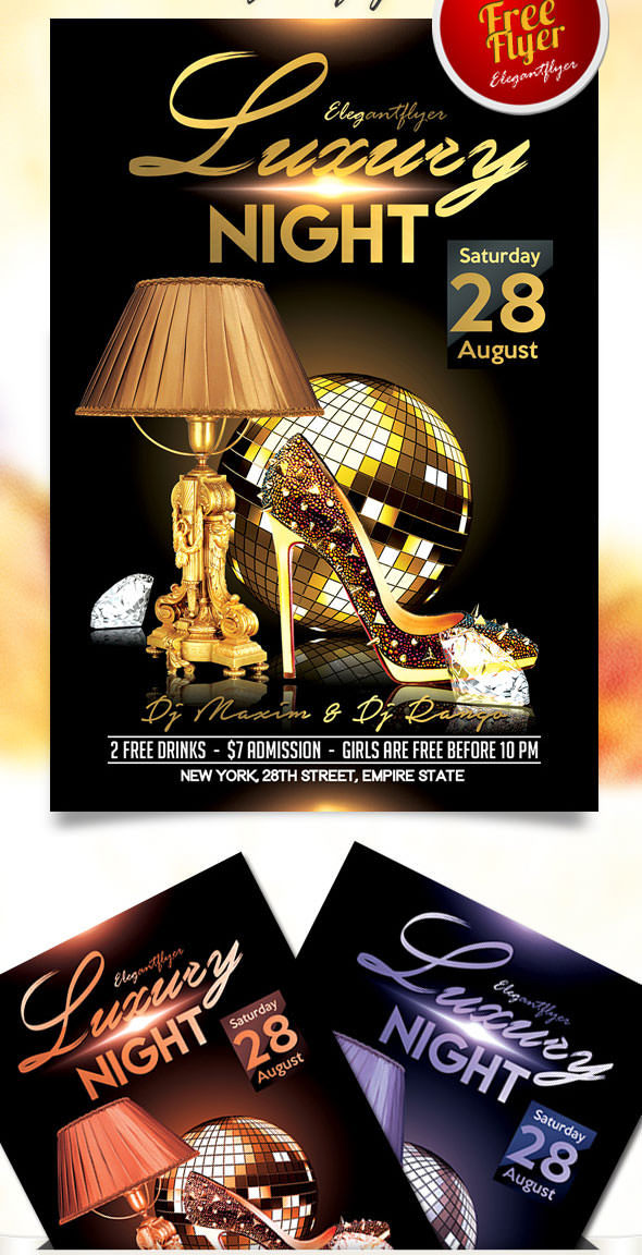 Free-Luxury-Night-Flyer-PSD-Template-with-Facebook-Cover