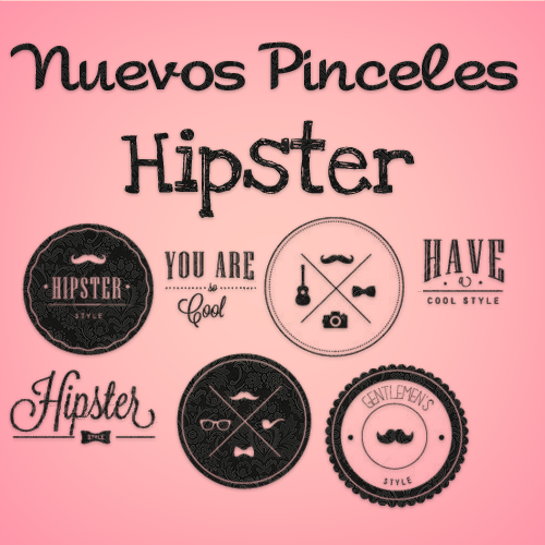 Free Nuevos Brushes Hipsters