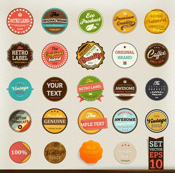 Free-Retro-label-stickers-vector-2
