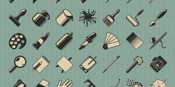 Free-Vintage-Design-Icons