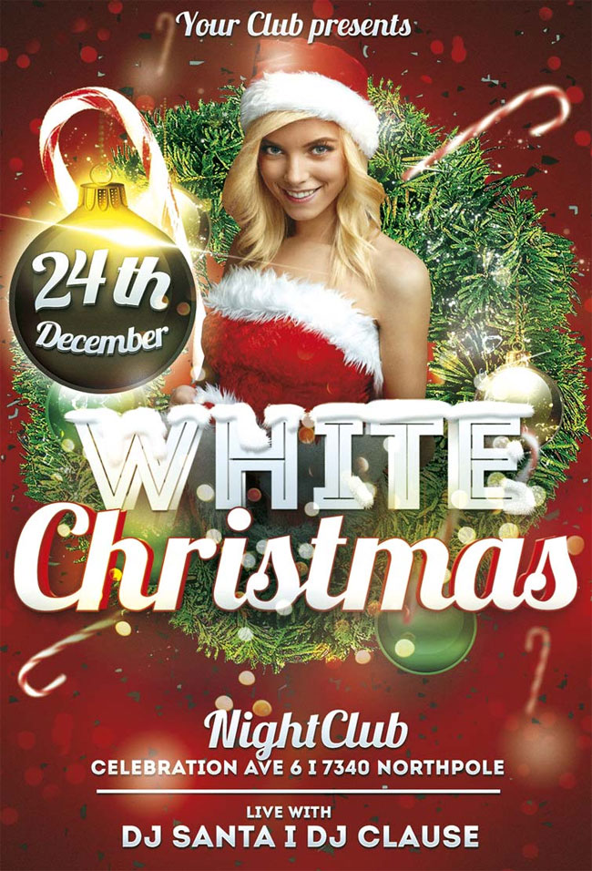Free-White-Christmas-Flyer-PSD-Template