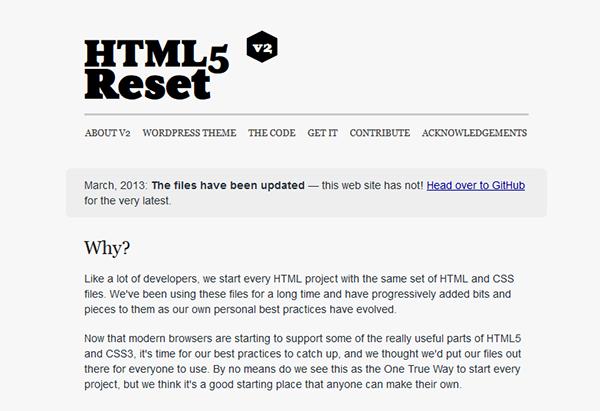 thesis theme css reset