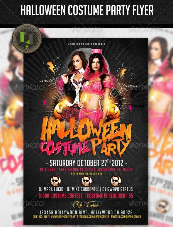Halloween-Costume-Party-Flyer
