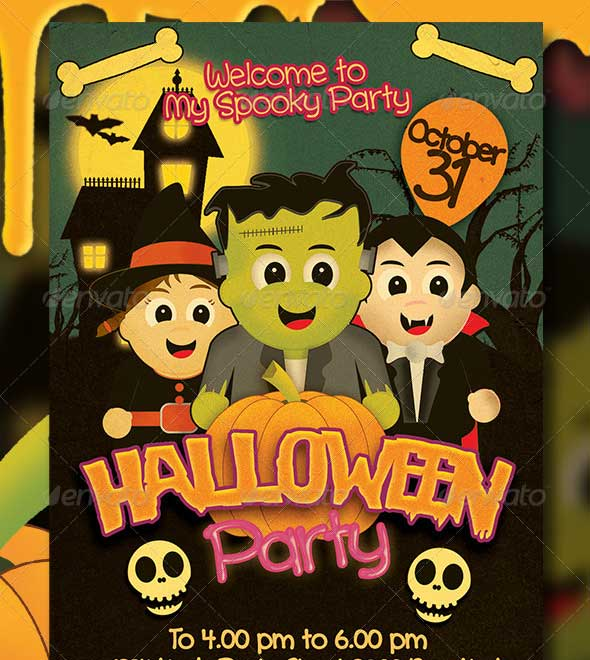 Halloween-Kids-Party-Flyer