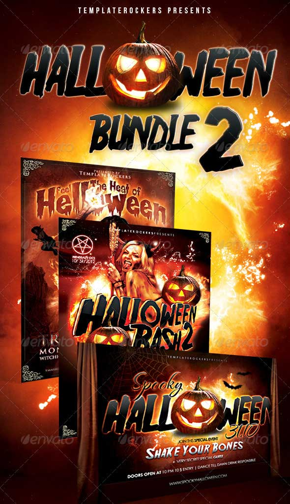 Halloween-Party-Flyer-Bundle-2