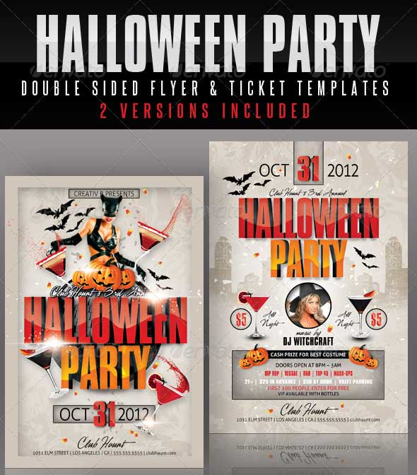 Halloween-Party-Flyer-and-Ticket-Templates