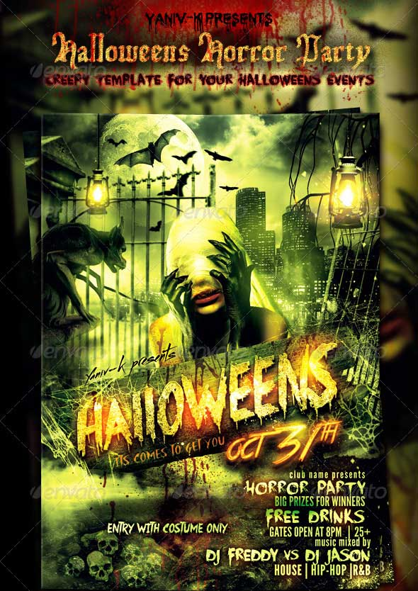 Halloweens-Horror-Party-Flyer-Template
