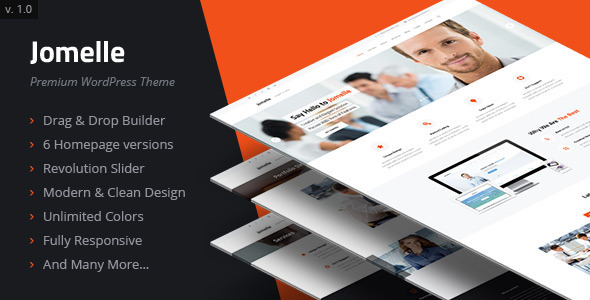 Jomelle - Multipurpose Business WordPress Theme