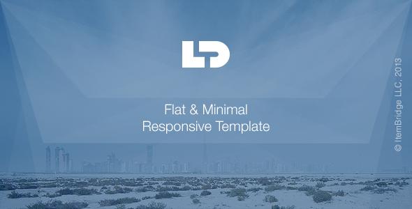 LightDose - Flat&Minimal Responsive HTML Template