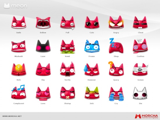 Meon Smilies - Free Emoticons Icon Packs