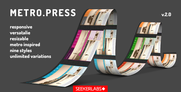 Metro.press - Expressive WordPress Theme