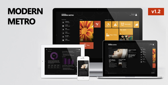 Modern Metro - Responsive WordPress Theme