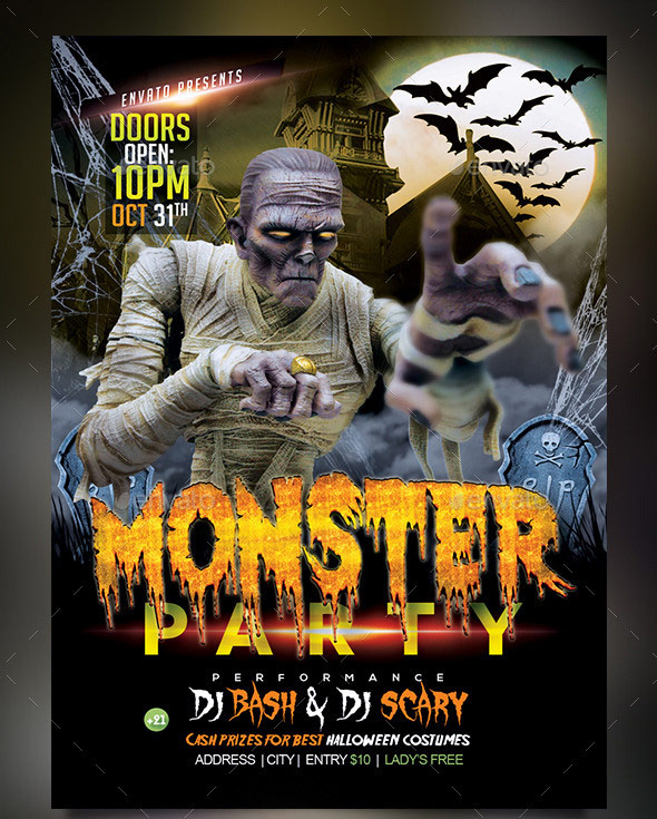 Monster-Party-Halloween-Celebration