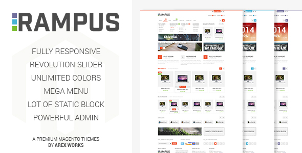 Rampus - Responsive HighTech Magento Theme
