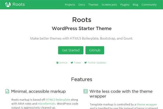 Roots---Free-Blank-WordPress-Themes