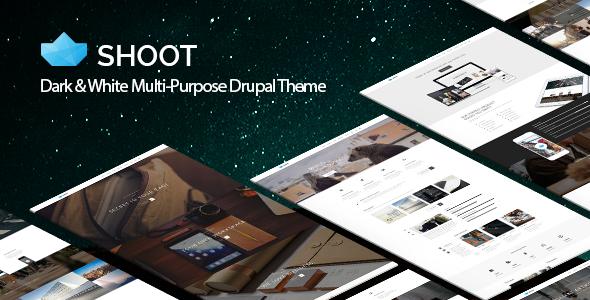 Shoot - Multi-purpose eCommerce Drupal Theme